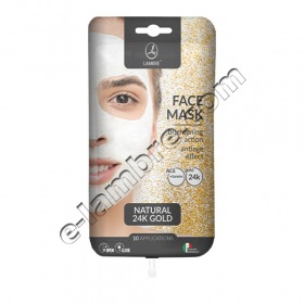 Маска для лица с частицами золота - Face Mask Gold Lambre