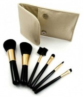 A set of makeup brushes